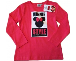 Bluza Minnie Mouse, fete 6 ani, firma Disney