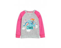 Hanorac Little Pony, fete 6-8 ani, firma H&M