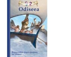 Carte Odiseea Repovestire dupa epopeea lui Homer, editura Curtea Veche