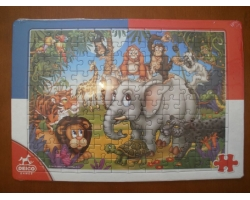 Puzzle 120 piese, firma D-Toys