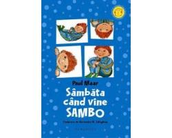 "Carte ""Sambata cand vine Sambo, editura Humanitas"