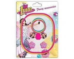Soy Luna, Set 10 accesorii, firma Disney